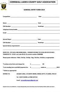 CLCGA General Entry Form