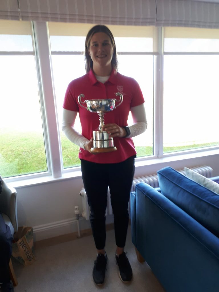 Vice President's Cup Winner Emily Currie